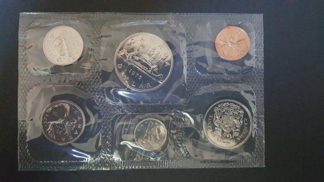 1975 Canadian Mint Set