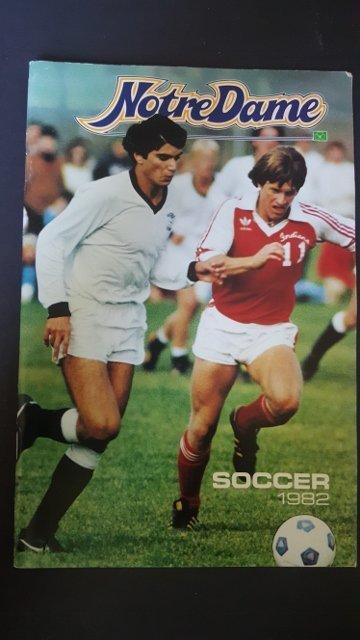 1982 Soccer Program
