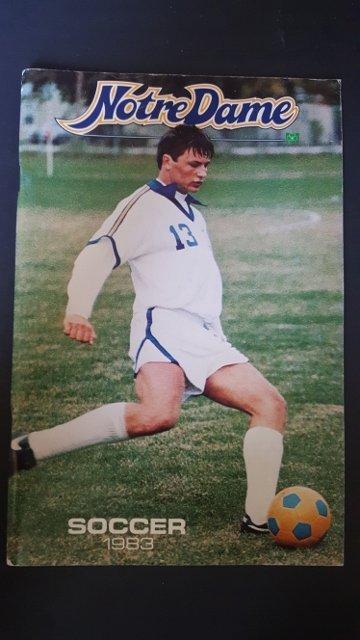 1983 Soccer Program