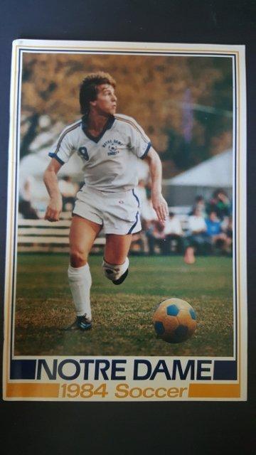 1984 Soccer Program