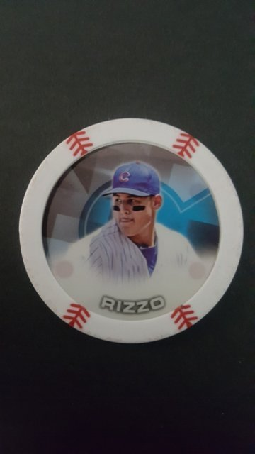 2014 Topps Chipz #80 Anthony Rizzo