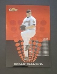2004 Finest #48 Roger Clemens