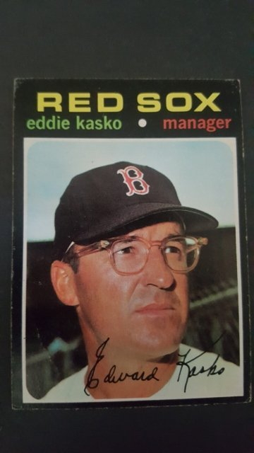 1971 Topps #31 Eddie Kasko MG