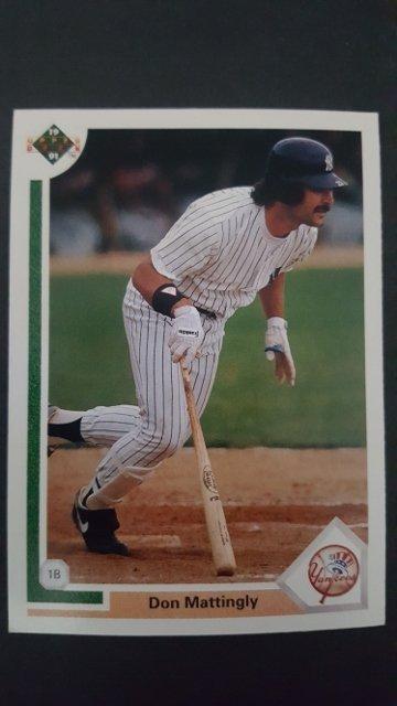 1991 Upper Deck #354 Don Mattingly