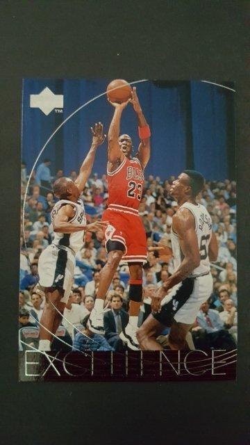 1996-97 Upper Deck #165 Michael Jordan