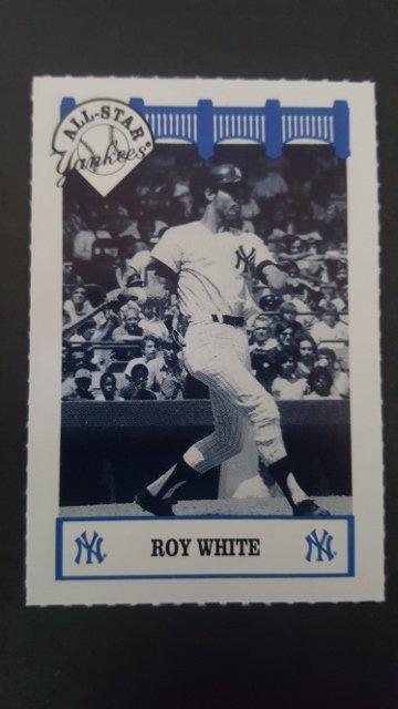 1992 Yankees WIZ All-Stars #85 Roy White