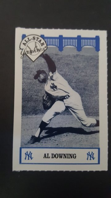 1992 Yankees WIZ All-Stars #19 Al Downing