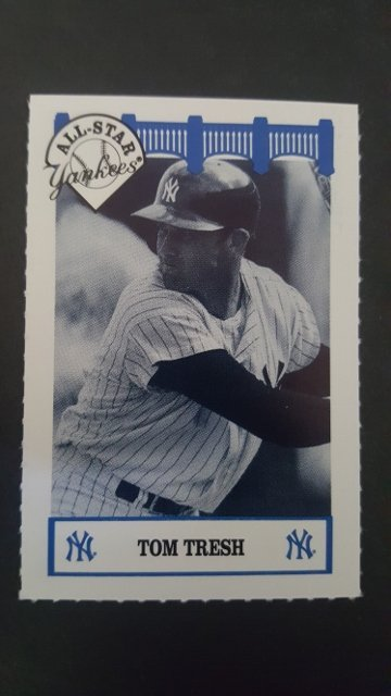 1992 Yankees WIZ 60s #131 Tom Tresh