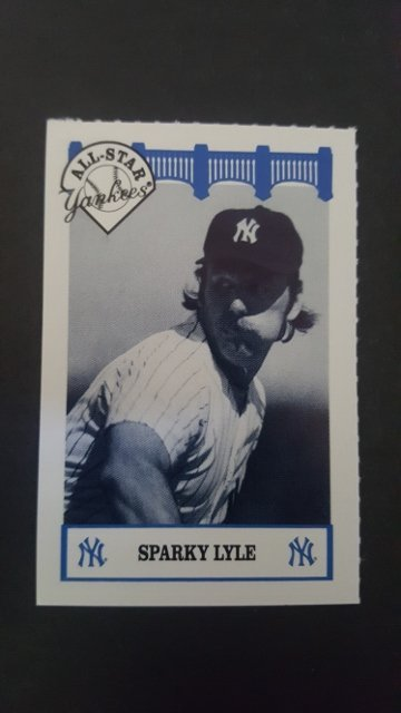 1992 Yankees WIZ All-Stars #42 Sparky Lyle