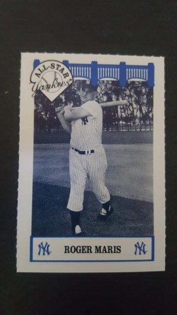 1992 Yankees WIZ 60s #79 Roger Maris