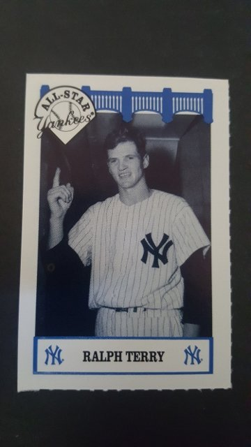 1992 Yankees WIZ All-Stars #82 Ralph Terry