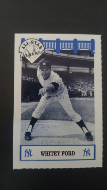 1992 Yankees WIZ 60s #42 Whitey Ford