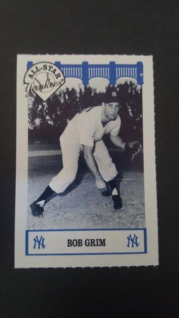 1992 Yankees WIZ 50s #41 Bob Grim