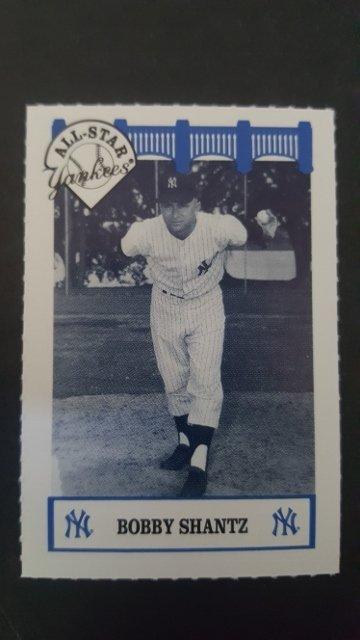 1992 Yankees WIZ All-Stars #77 Bobby Shantz