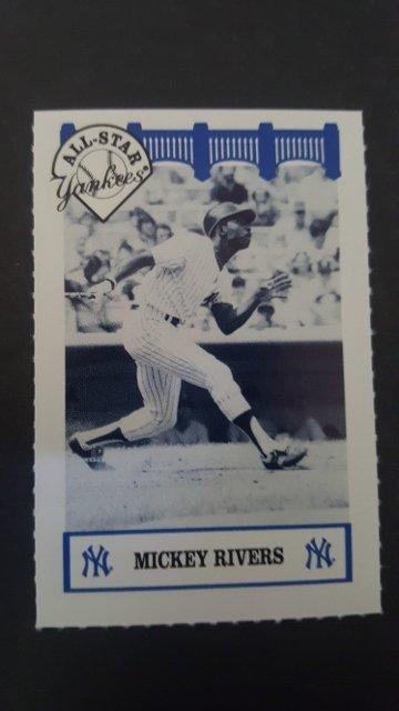 1992 Yankees WIZ All-Stars #65 Mickey Rivers