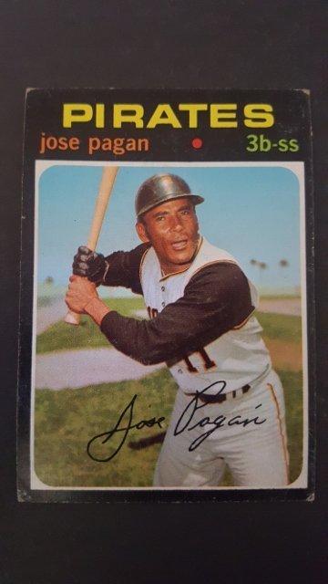 1971 Topps #282 Jose Pagan