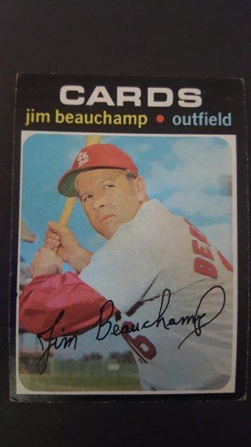 1971 Topps #322 Jim Beauchamp