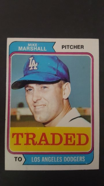1974 Topps Traded #73T Mike Marshall