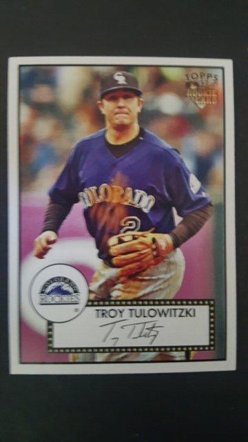2007 Topps 52 #5b Troy Tulowitzki