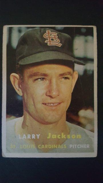 1957 Topps #196 Larry Jackson