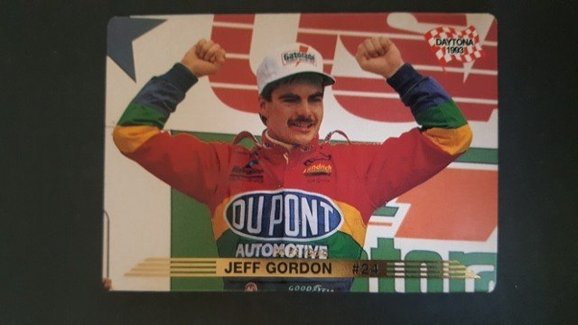 1993 Action Packed 24K Gold #36G Jeff Gordon
