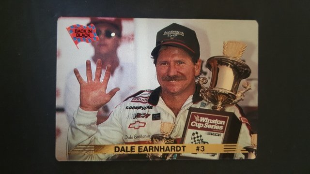 1993 Action Packed 24K Gold #20G Dale Earnhardt