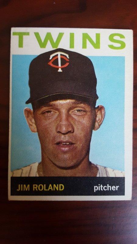 1964 Topps #341 Jim Roland