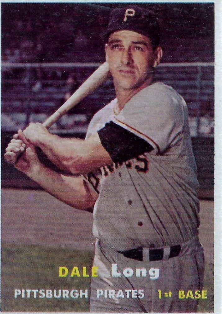 1957 Topps #3 Dale Long