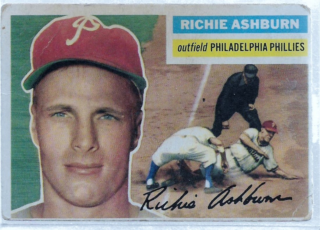 1956 Topps #120 Richie Ashburn