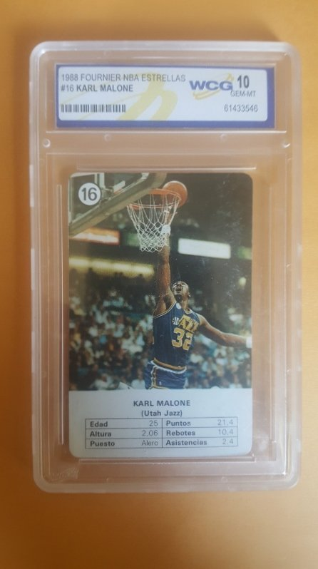 1988 Fournier NBA Estrellas #16 Karl Malone