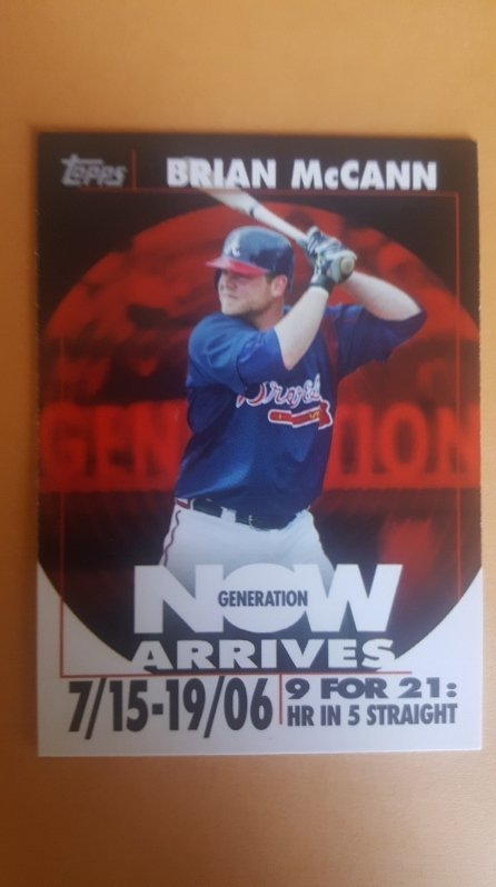 2007 Topps Generation Now Vintage #GNV32 Brian McCann