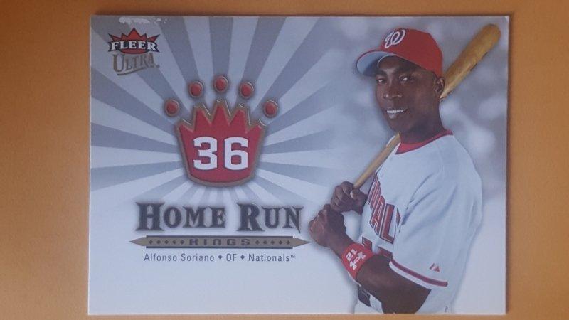 2006 Ultra Home Run Kings #HRK12 Alfonso Soriano