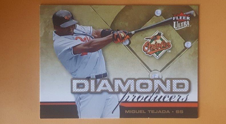 2006 Ultra Diamond Producers #DP16 Miguel Tejada