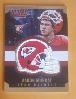 2014 Score Rookie Team Helmets #26 Aaron Murray