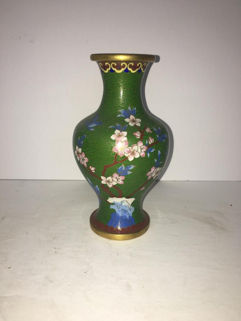 Vintage chinese vase cloisonne