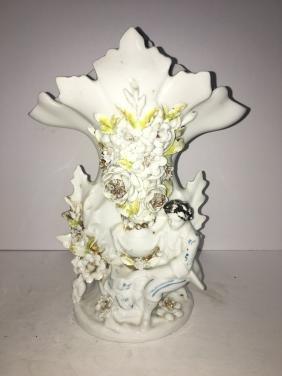 Old paris porcelain vase