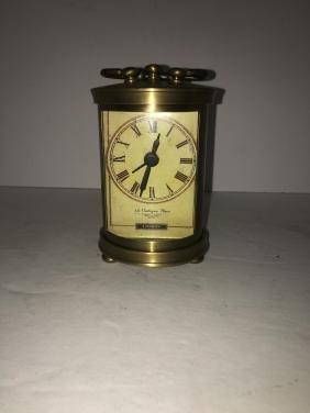 Cadogan place london brass alarm clock