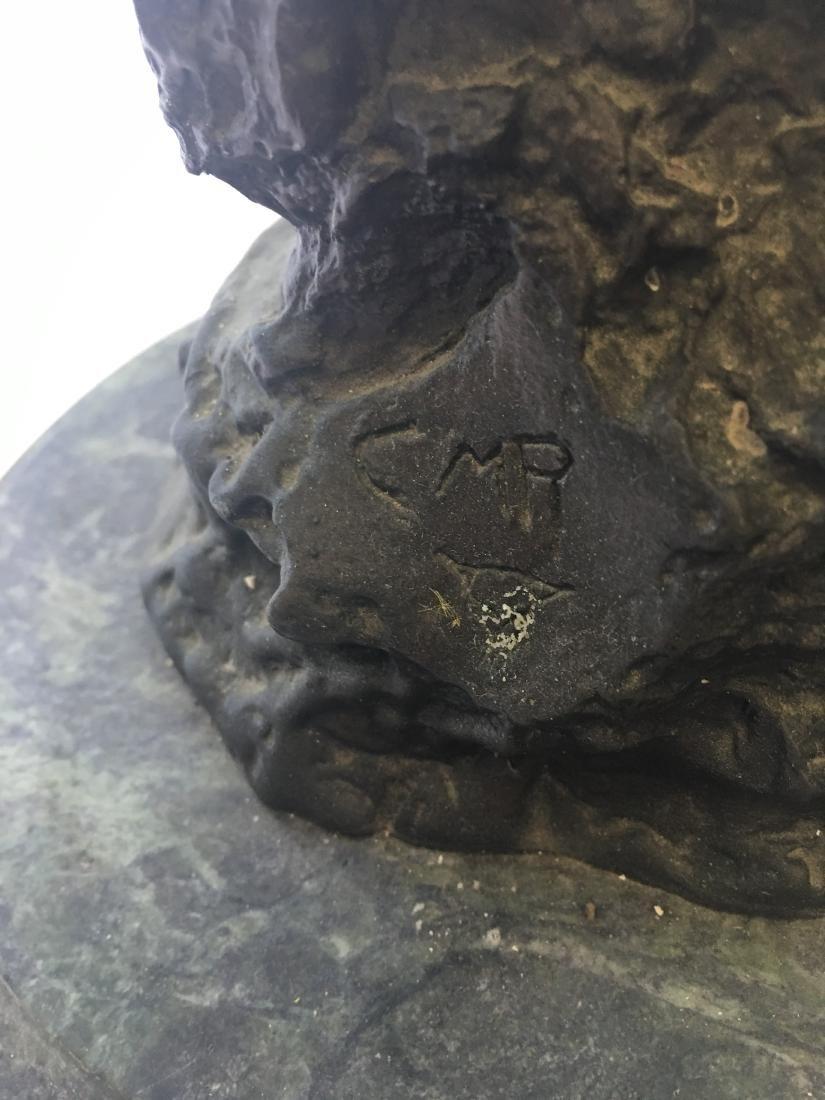 Big Horn Sheep Collectible Solid Bronze Sculpture - 4