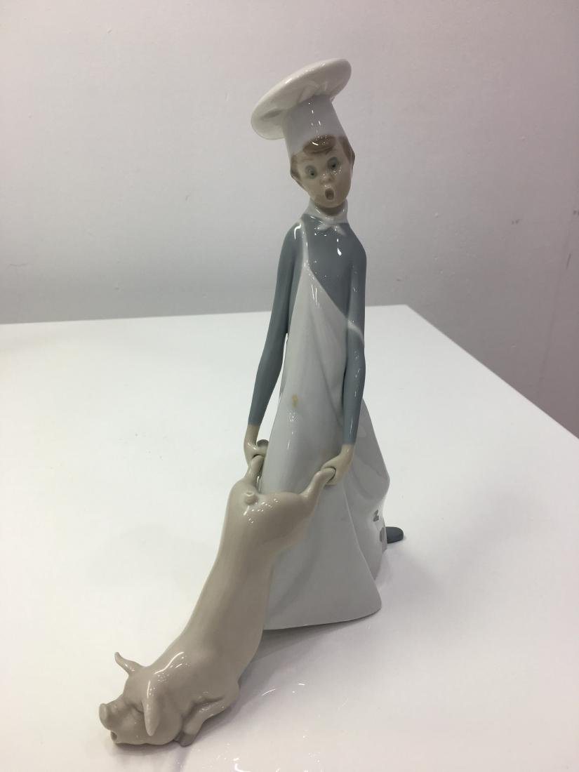 Lladro figurine Cook in trouble