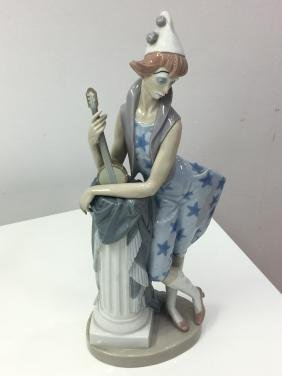 Lladro figurine Languid clown