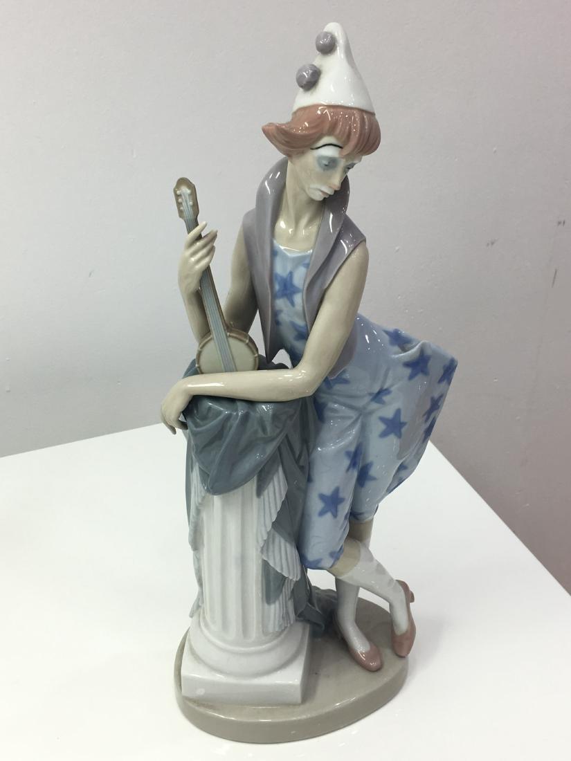 Lladro figurine Languid clown