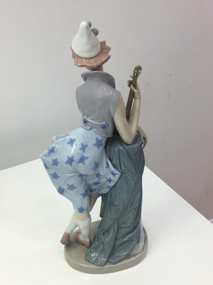 Lladro figurine Languid clown - 2