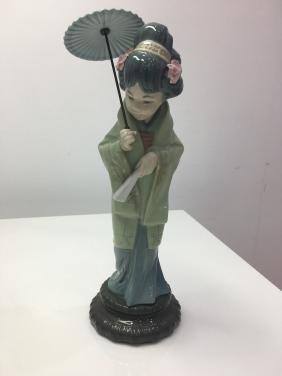 Lladro japanese figurine