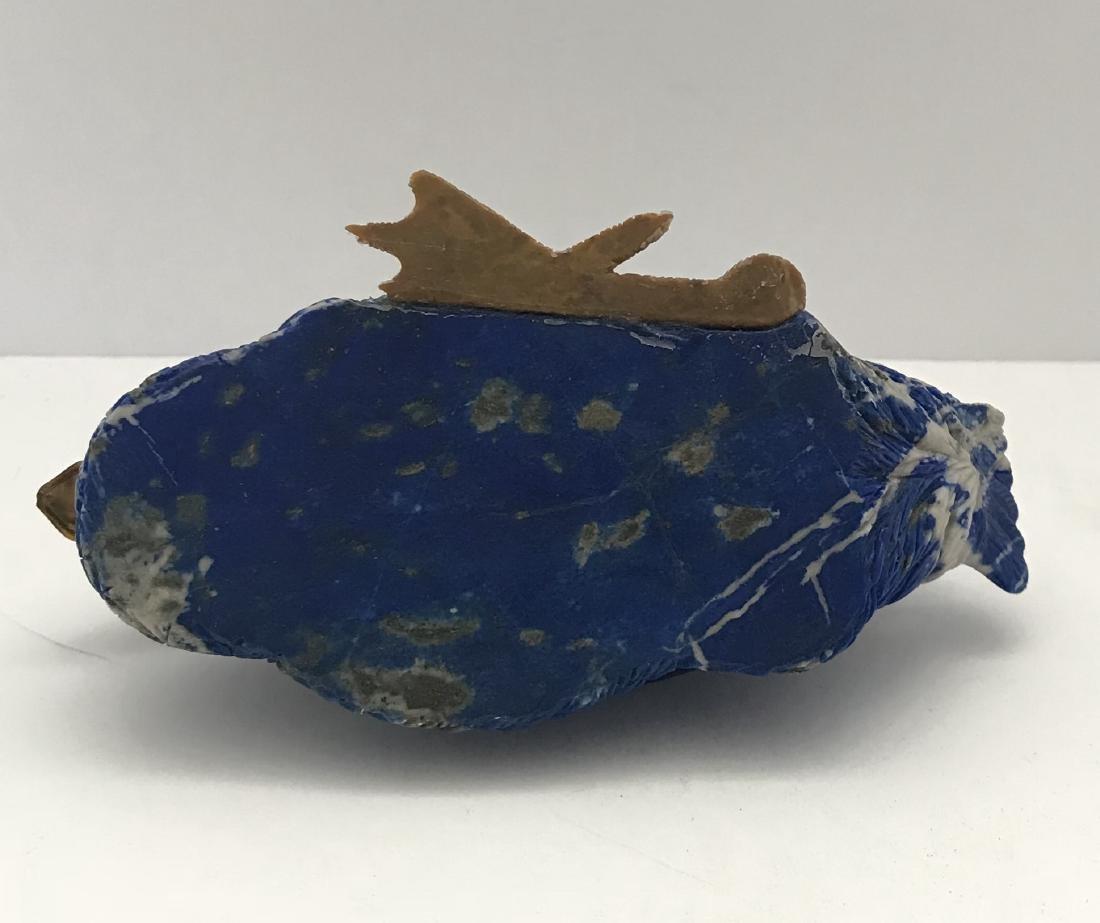 Antique Russian Lapis Lazuli Duck Statuelte - 6