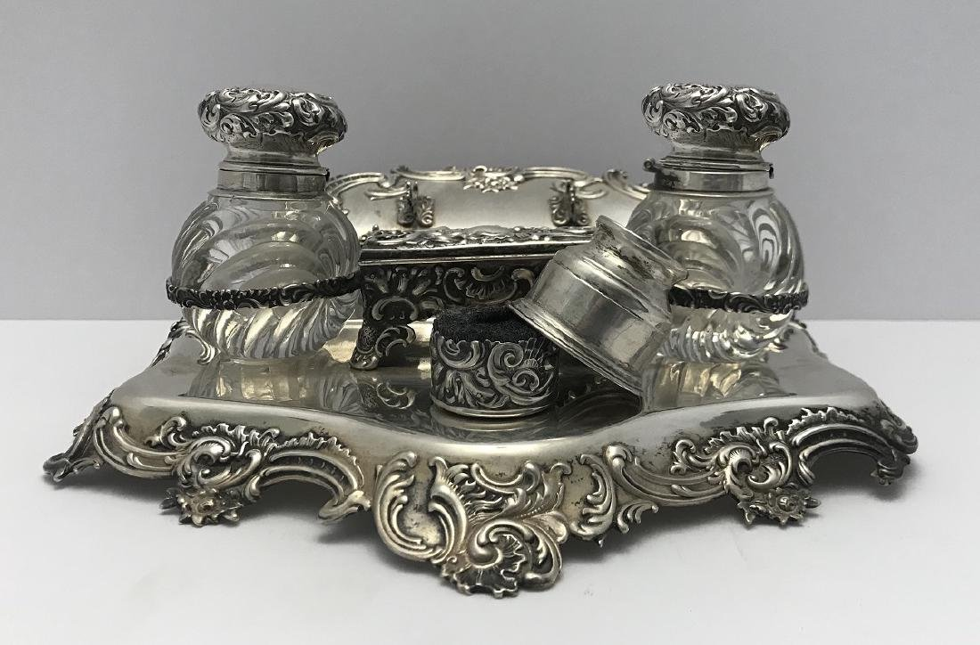 Antique victorian Howard and Co. Sterling Silver