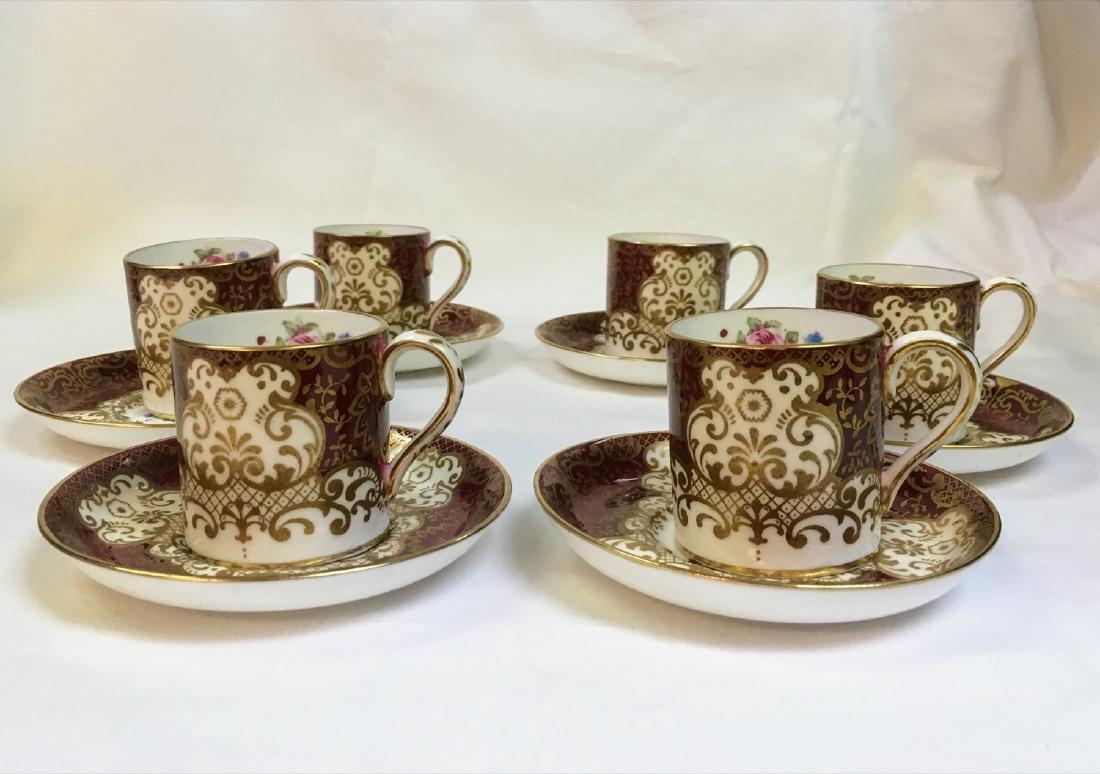 Vintage coffee cups, Set of 6 vintage Coffee cups &