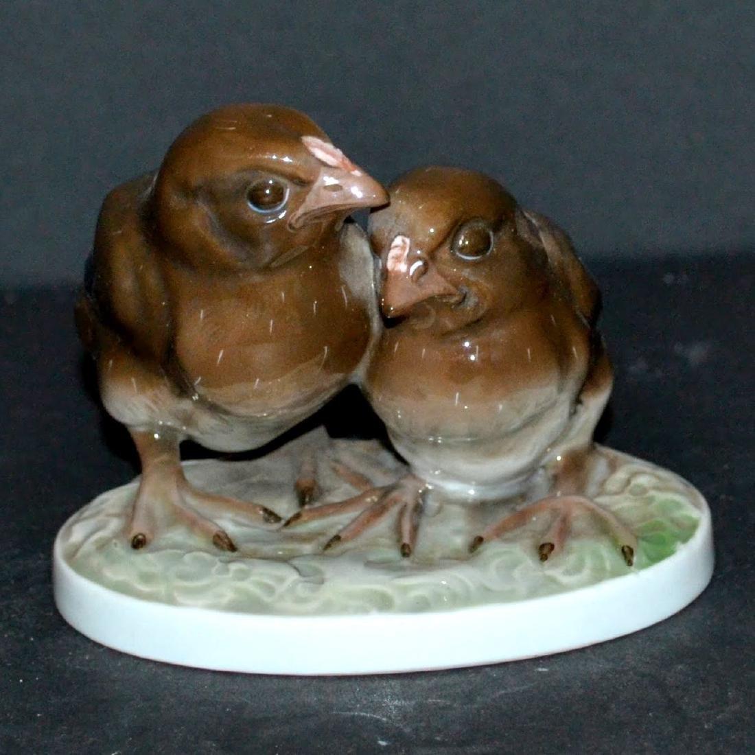 Rosenthal pair of Birds