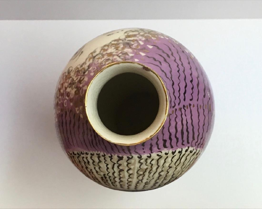Beautiful ceramic vase by Trujillo, Cuban Artist - 4