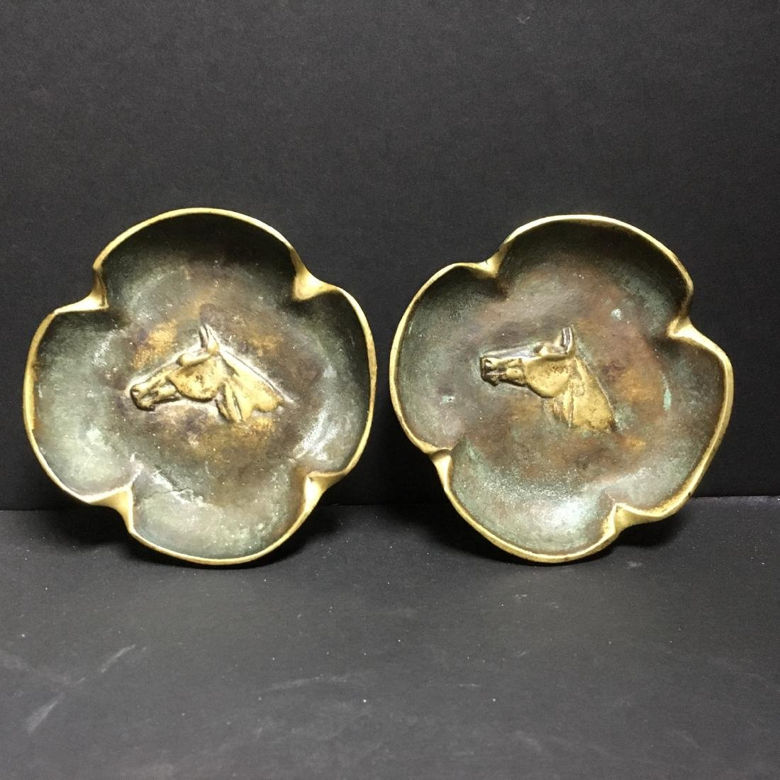 Pair the old Virginia Metalcrafters brass astray