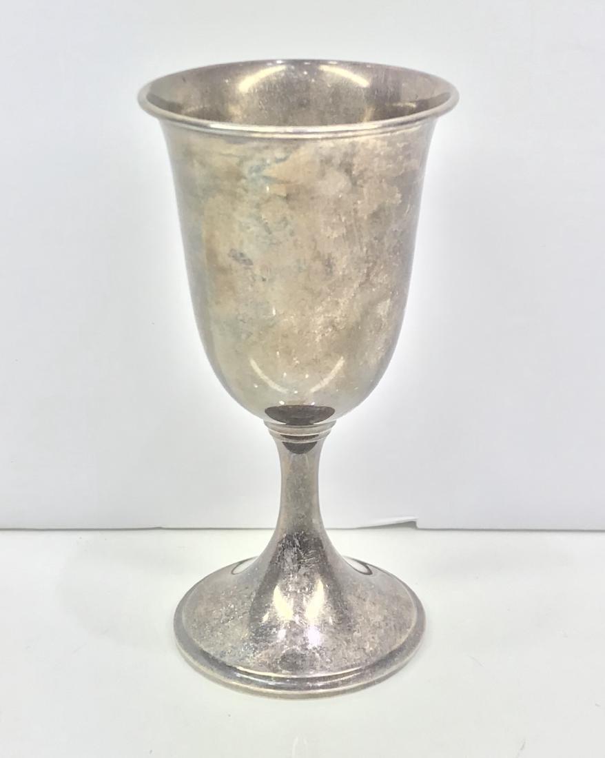 Sterling elegant wine cup S.KIRK & SON